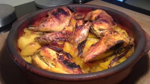 cataplana de pollo, recetas cataplana