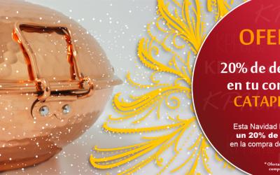 ¡Oferta de Navidad KP Home: 20% de descuento en cataplanas!